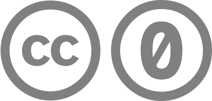 Creative Commons Zero 1.0 Public Domain Dedication